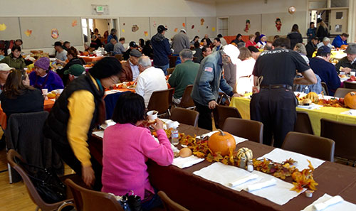 9th Annual Community Thanksgiving Dinner –
