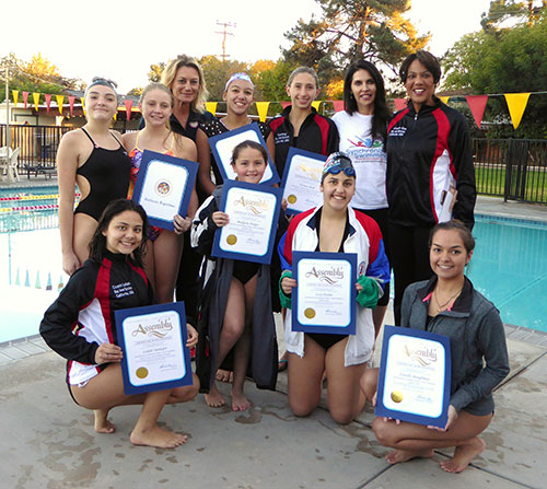 Synchronized Swimming Athletes with Disabilities Making Waves