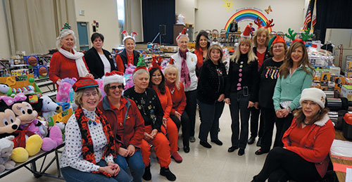Soroptomist Club's Christmas Store Gives the Gift of Christmas