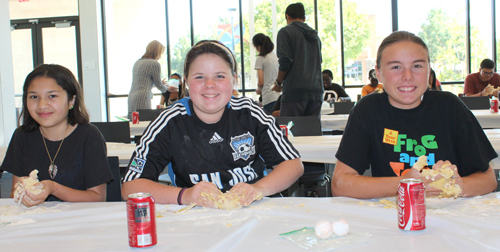 Teens Make Pasta from Scratch at Northside Library