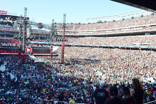 Two Million Guests And Counting - Levi's Stadium Buzzing After First Year