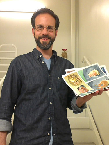 Artist Andy Gouveia Teaches Visual Storytelling