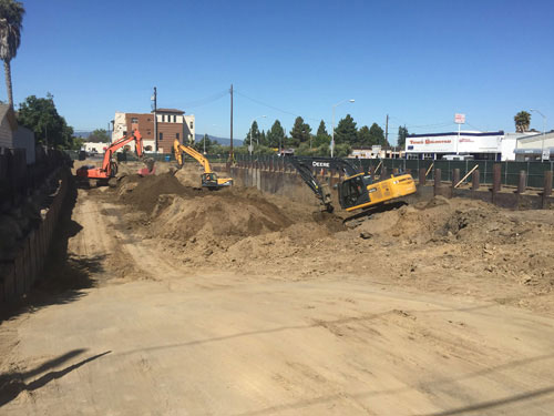 Madison Place Construction Underway; El Camino Real Facing Changes