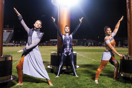 Vanguard Competes, Places High in Local Competitions