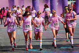 Colorful Run Benefits PACE