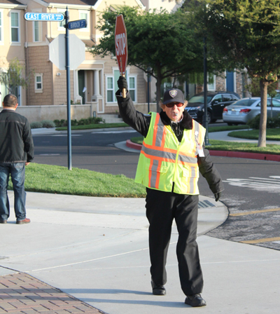 Crossing Guard Wins Adult Role Model Award