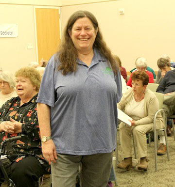Genealogist Janice Sellers Gives Library Talk