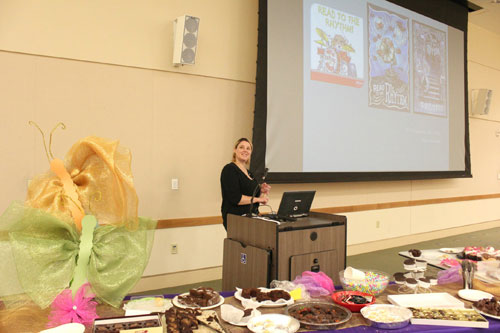 Chocolate Party Celebrates Funded Library Programs