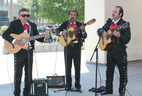 Lively Music and Cultural Fashion Mark Cinco De Mayo Celebration