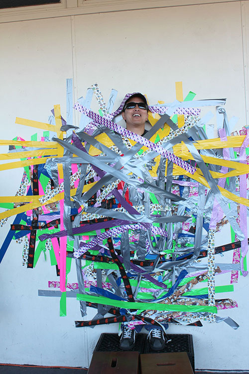 Sutter School Students Duct Tape Principal to the Wall