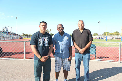 Santa Clara High School Celebrates Armed Forces Night During Sept. 11 Football Game
