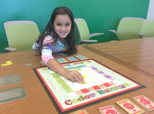 Second-Grade Student Creates Board Game to Teach Coding Concepts