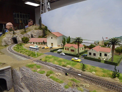 Caltrain Depot Model Train Show Fascinates Kids and Adults
