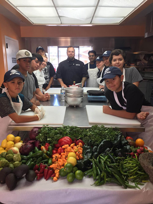 Justin's House Teaches Kids Life Skills Through Cooking