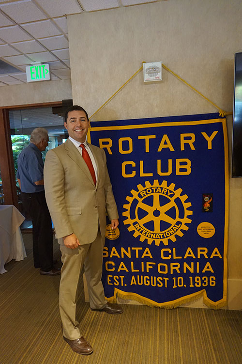 The Santa Clara Rotary Club Welcomes 49er CEO Jed York