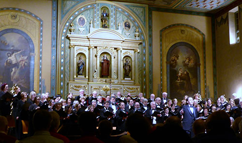 2016 Holiday Evening of Lessons and Carols with the Santa Clara Chorale