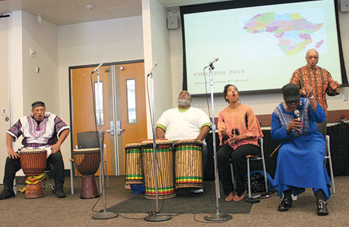 Mission College Recognizes Kwanzaa with a Dramatic Poetry Reading