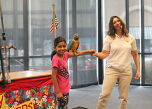 Northside Library's Summer Reading Kickoff Comes with Balloons, Birds and Bubbles