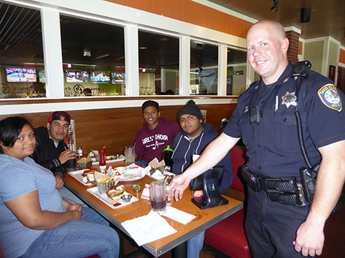 Tip-A-Cop Day at Chili's Benefits Special Olympics