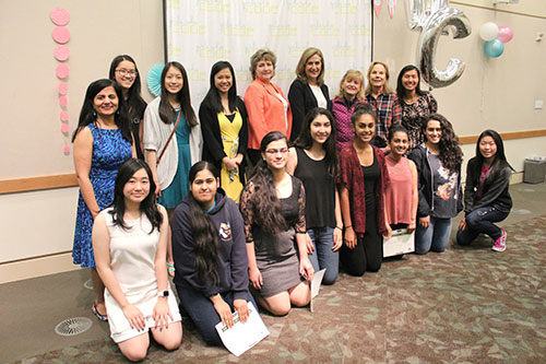 Graduation Ceremony Honors Participants of Girls Who Code