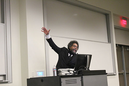 Civil Rights Activist Cornel West Speaks at Mission College