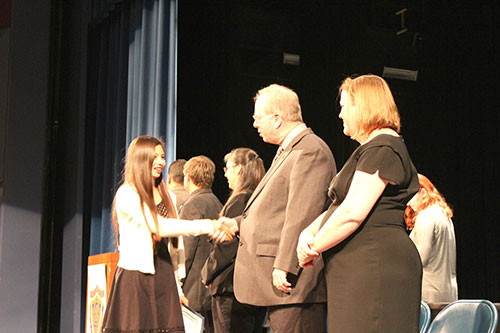 Annual Public School Week Awards Ceremony Recognizes Active Parents and Students