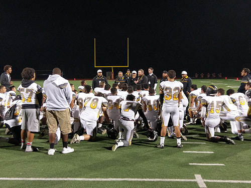 Wilcox Football Fights Ferociously, But Falls to Menlo-Atherton