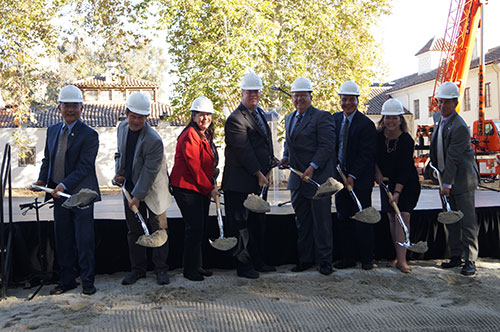 Ground Breaking for K - 12 Campus to Serve Santa Clara's North Side