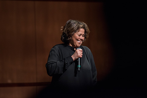 Say More About That: Anna Deavere Smith's SCU Conversation