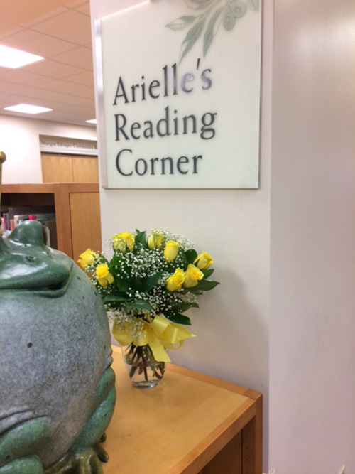 Arielle's Reading Corner Provides Cozy Lounging Area Inside Library