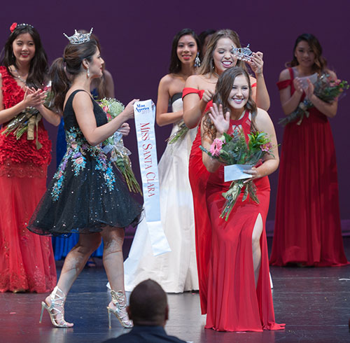 2017 Miss Santa Clara and Miss Santa Clara's Outstanding Teen Crowned
