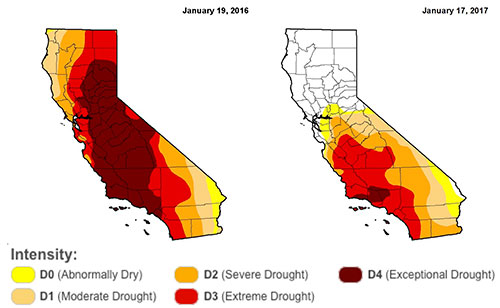 The City's Drought Conditions Improve