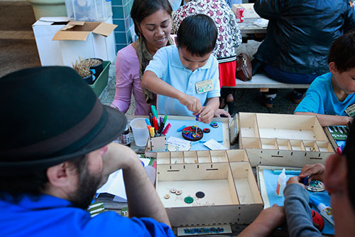 Maker Night: Silicon Valley's Spin on Paint Nite