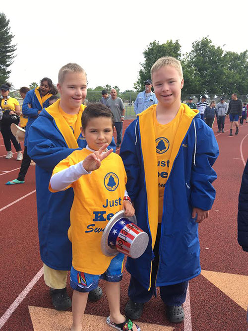 Santa Clara Mother Talks About Child's Special Olympics Experience