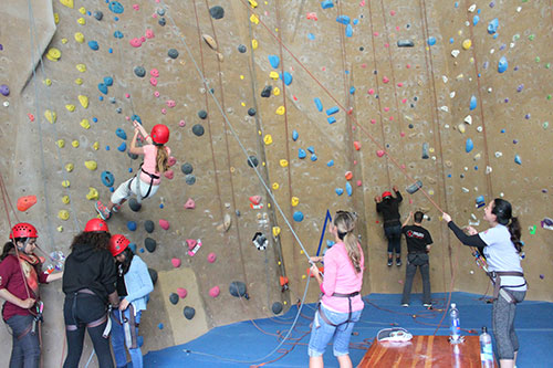 The Sky's the Limit at Planet Granite's Outing for Santa Clara Middle School Students