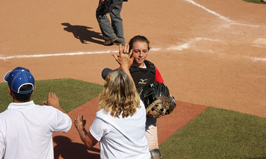 Santa Clara Native at USA Softball All-American Games