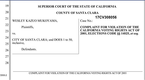Santa Clara Voting Rights Lawsuit Moves Into The Courtroom