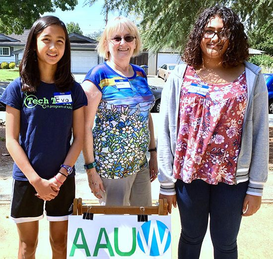 Girls Find Their Passion for High-Tech Careers at AAUW Tech Trek Camp