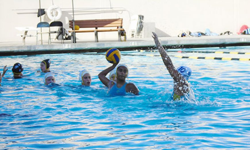 Rivalry Water Polo Game Goes Full Throttle