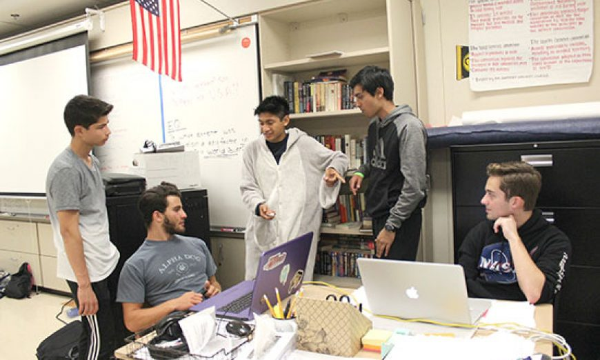 "About 130 Students Take on Challenge of Wilcox High School's 24 Hour ""Wilhacks"""