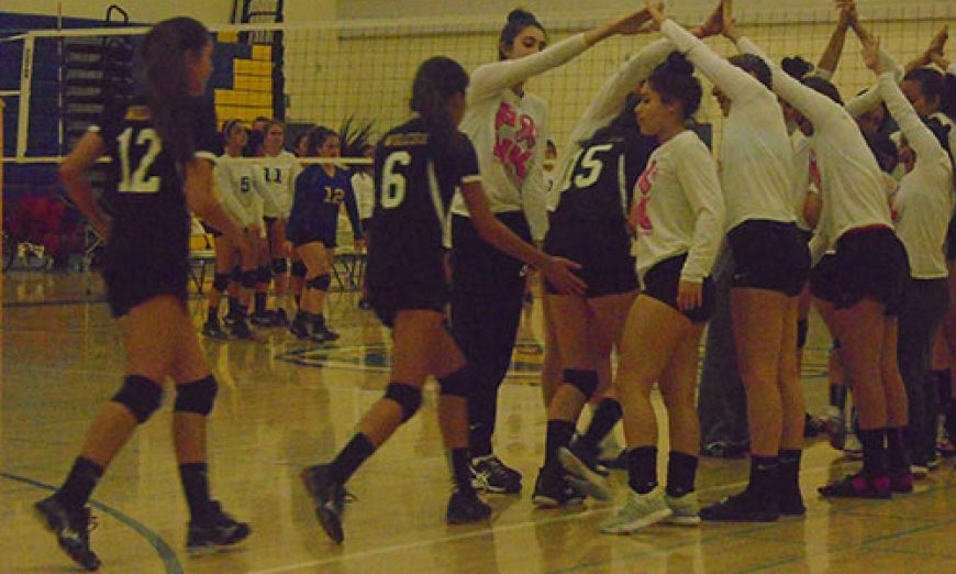 Bruins Beat Chargers in Thrilling JV Volleyball Match