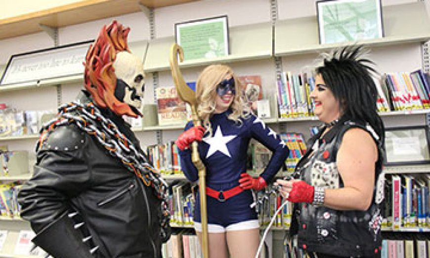 Enter the Galaxy of Santa Clara City Library's 2017 Comic Con