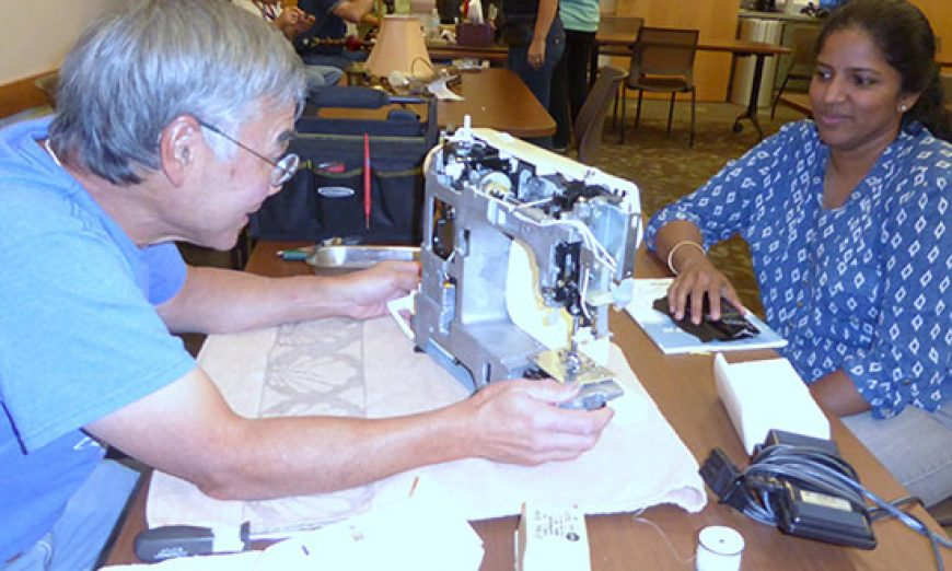 Repair Café Spreads from Amsterdam to Santa Clara