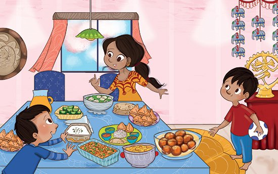 Santa Clara Author Sandhya Acharya Publishes Picture Book About an Indian Dessert