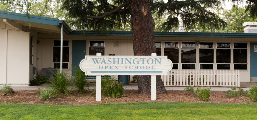 Washington Open Elementary School Named 2018 California