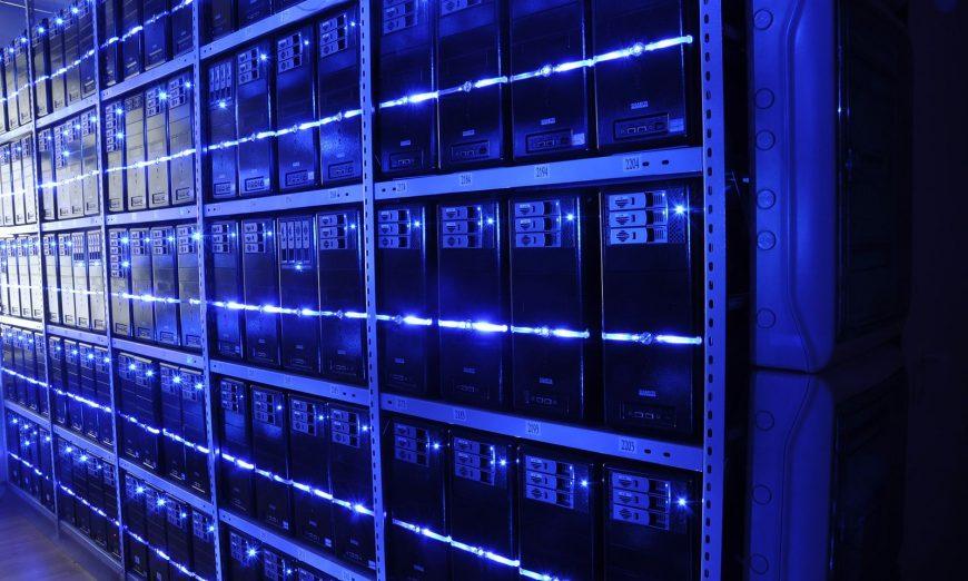 DataCenter Stock Photo