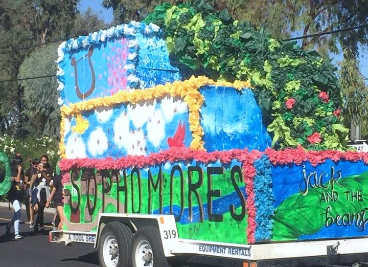 Wilcox Homecoming Floats