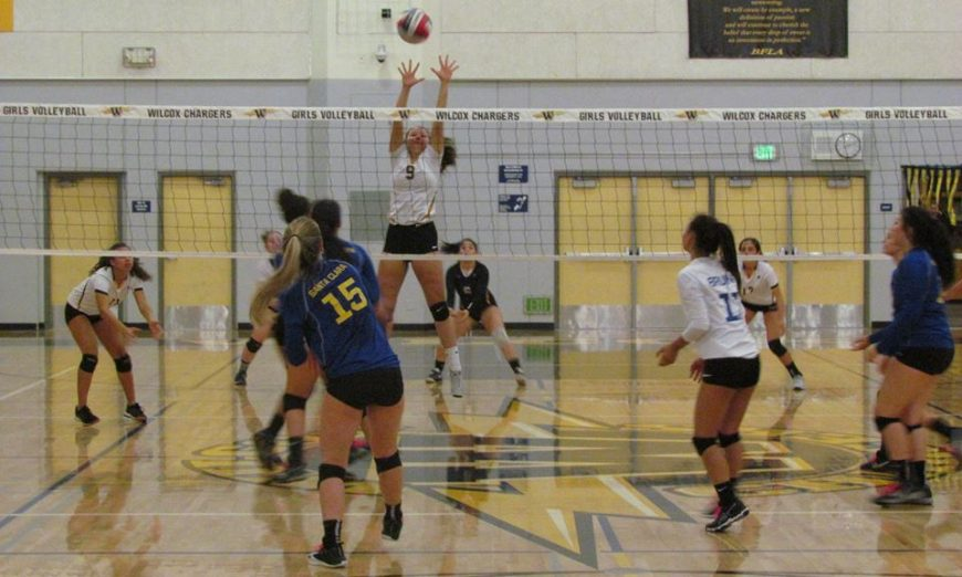 Santa Clara Bruins and Wilcox Chargers Volleyball
