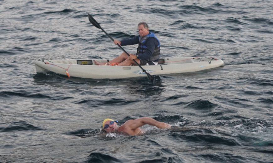 Ken Mignosa marathon swim
