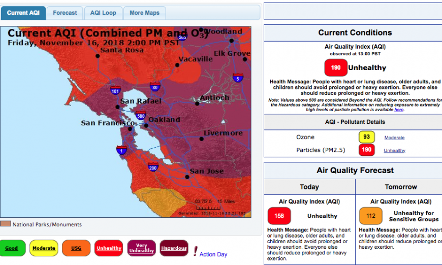 Santa Clara Unified School District Air Quality